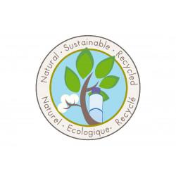 Label Naturel - Écologique - Recyclé-detail