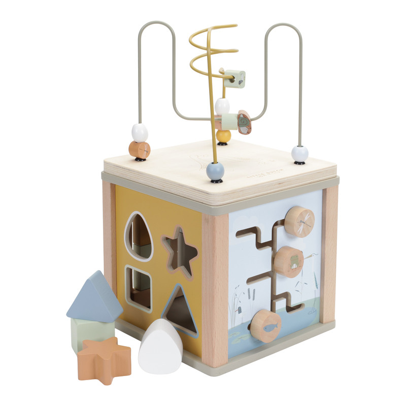 Cube d'éveil Little Dutch couleur Olive