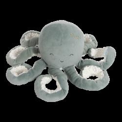 Peluche pieuvre Mint ocean Little dutch-detail