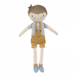 Poupée tissu garçon Little Dutch-detail
