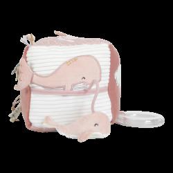 Cube d'éveil baleine-detail