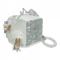 cube d'activité en tissu pieuvre Little dutch-detail