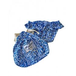 Bikini bleu pour poupée 34cm-detail