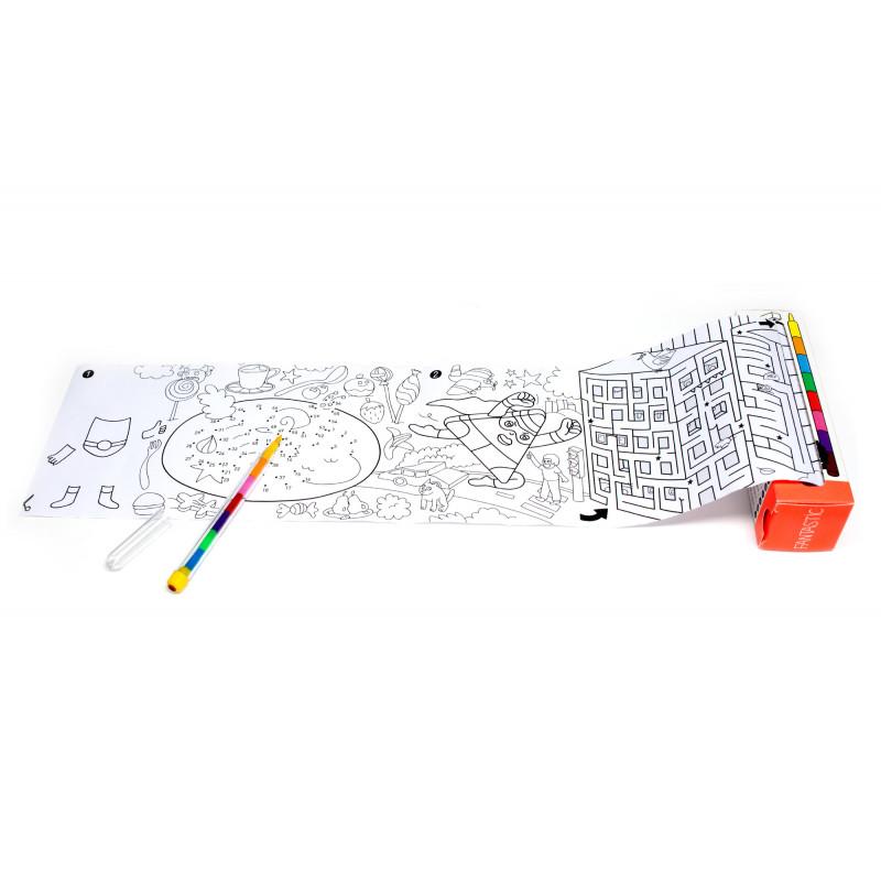 Kit coloriage nomade de chez omy