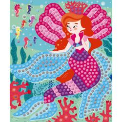 Kit créatif mosaiques princesses Janod-detail