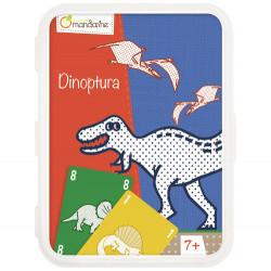Jeu de cartes Dinosaures-detail