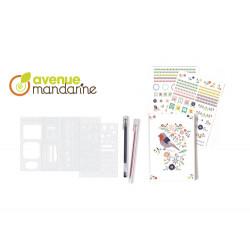 Journal créative avenue mandarine-detail