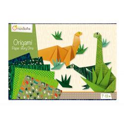 Boite créative origami dinosaures avenue mandarine-detail
