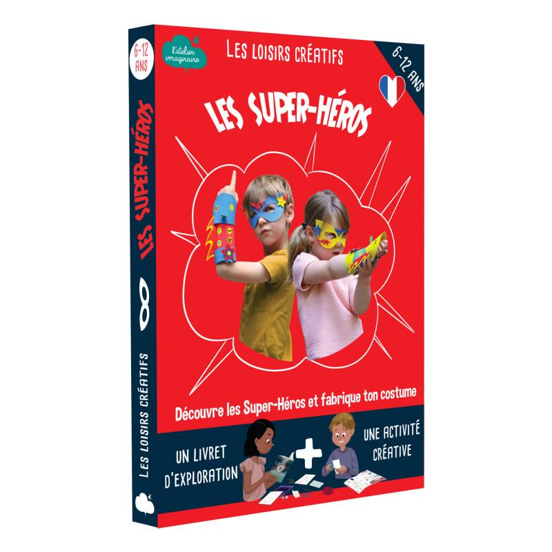 Kit créatif les super-héros l'atelier imaginaire