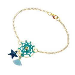 Kit créatif contenant 3 bijoux attrape-rêves à créer-detail