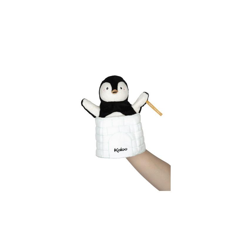 Marionnette cache-cache pingouin Gabin de la marque Kaloo