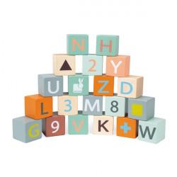 Apprendre les chiffres, les lettre, les formes et les couleurs tout en s'amusant-detail