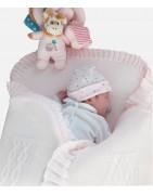 Nids d'ange tricot bébé : parcs ou berceaux (Achat)